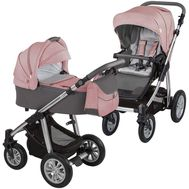 Carucior 2 in 1 Dotty - Baby Design - Koral