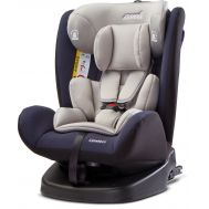 Scaun auto Mokki Rear-facing 360 Isofix 0-36 Kg Navy - Caretero - Caretero