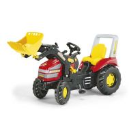 Tractor Cu Pedale Copii 046775 Rosu - Rolly Toys - Rolly Toys