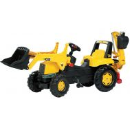 Tractor Cu Pedale Copii 812004 Galben - Rolly Toys - Rolly Toys