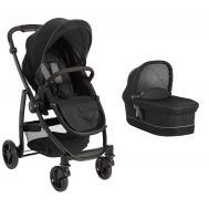 Carucior Evo II 2 in 1 Black Grey - Graco - Graco