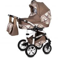 Carucior Flamingo Easy Drive 3 in 1 - Vessanti - Brown - Vessanti