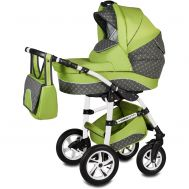 Carucior Flamingo Easy Drive 3 in 1 - Vessanti - Green - Vessanti