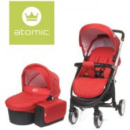Carucior Atomic 2 in 1 Red - 4Baby - 4 Baby
