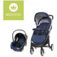 Carucior Atomic Travel System Navy Blue - 4Baby - 4 Baby