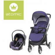 Carucior Atomic Travel System Purple - 4Baby - 4 Baby