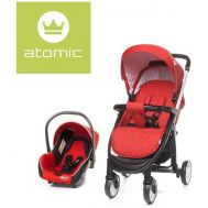 Carucior Atomic Travel System Red - 4Baby - 4 Baby