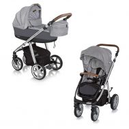 Carucior multifunctional Next Manhattan 2 in 1 Alaska Grey - Espiro - Espiro