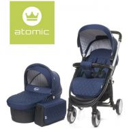 Carucior Atomic 2 in 1 Navy Blue - 4Baby - 4 Baby