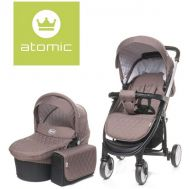 Carucior Atomic 2 in 1 Brown - 4Baby - 4 Baby