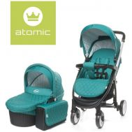 Carucior Atomic 2 in 1 Dark Turquoise - 4Baby - 4 Baby