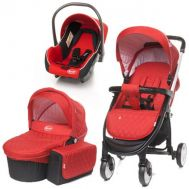 Carucior Atomic 3 in 1 Red - 4Baby - 4 Baby