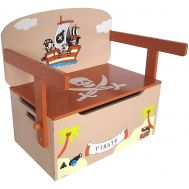 Mobilier 2 in 1 pentru depozitare jucarii Brown Pirate - Style - Style