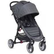 Carucior City Mini 4 Charcoal Denim - Baby Jogger - Baby Jogger