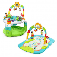 Centru de activitati 2 in 1 Laugh & Lights - Bright Starts - Bright Starts