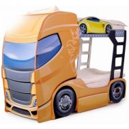 Pat camion tineret DUO SCANIA+2 Orange - Mykids - MyKids