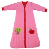 Sac de dormit cu maneca lunga Apple of my eye 0-6 luni 2.5 Tog - Slumbersac - Slumbersac