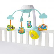 Bright Starts - Carusel Soothing Safari 2 In 1 Mobile - Bright Starts