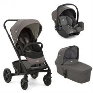 Joie – Carucior multifunctional 3 in 1 Chrome Foggy Gray - Joie