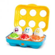 Bright Starts - Jucarie Put N Shake Eggs  -Giggling Gourmet - Bright Starts