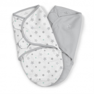 Swaddle Me - Sistem de infasare 2 piese Starry Skies, 0-3 luni - Summer Infant