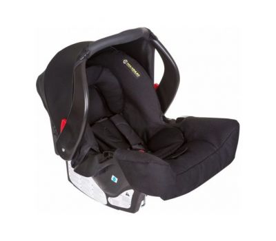 Scaun auto Junior Baby Snugfix Extrem Black - Graco