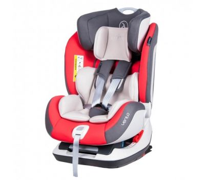 Scaun auto Vento cu Isofix si Top-Tether 0-25 kg Red - Coletto - Coletto