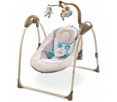Leagan electric Loop cu telecomanda - Caretero - Beige - Caretero