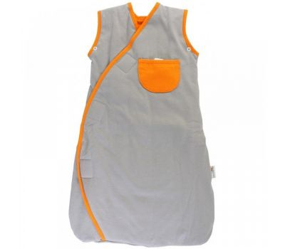Sac de dormit multifunctional Grey Orange Zoo Animal Travel 0-3 luni 2.5 Tog - Slumbersac - Slumbersac