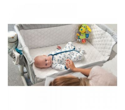 Patut 2 in 1 Co-Sleeper Theo Grey - Lionelo - Lionelo