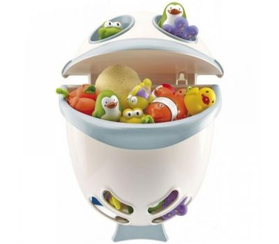 Suport pentru pastrarea jucariilor si a samponului Bubble Fish - Thermobaby - Green - Thermobaby