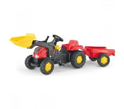 Tractor Cu Pedale Si Remorca Copi 023127 - Rolly Toys - Rolly Toys