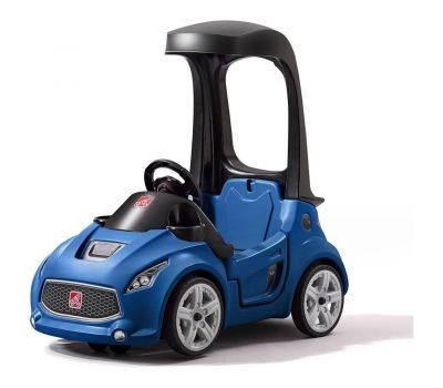 Vehicul Albastru Turbo Coupe Foot-to-floor - Step2 - Step2