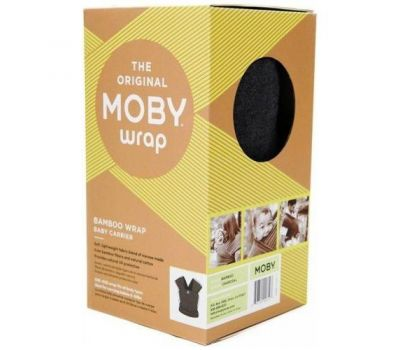 Wrap Elastic Design - Moby - Black Dots - Moby
