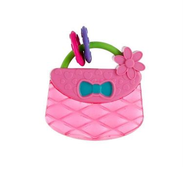 Bright Starts - Posetuta Pretty In Pink Carry & Teethe Purse - Bright Starts
