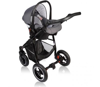Carucior Crooner 3 in 1 - Vessanti - Gray