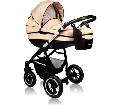Carucior Crooner Prestige 2 in 1 - Vessanti - Cream