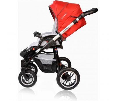 Carucior Crooner Prestige 3 in 1 - Vessanti - Red