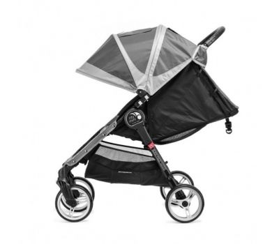 Caruciorul City Mini 4 Steel Grey Sand - Baby Jogger