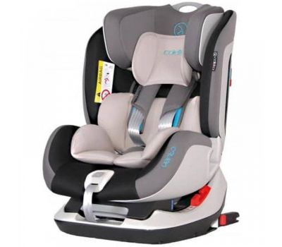 Scaun Auto Vento cu Isofix si Top-tether 0-25 Kg - Coletto - Grey - Coletto
