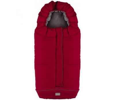 Sac de iarna City 100cm 9545 - Nuvita - Red/Grey - Nuvita