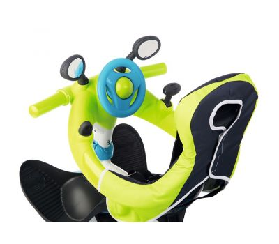 Tricicleta Baby Driver Comfort - Smoby - Blue - Smoby