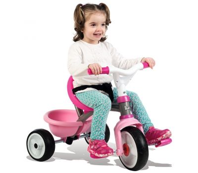 Tricicleta Be Move Comfort - Smoby - Pink - Smoby