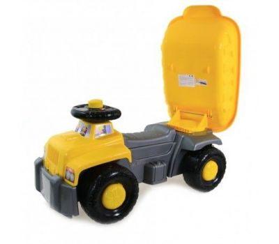 Camion basculant Carrier Yellow - Super Plastic Toys - Super Plastic Toys