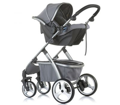 Carucior Up & Down 3 in 1 Granite Grey - Chipolino - Chipolino