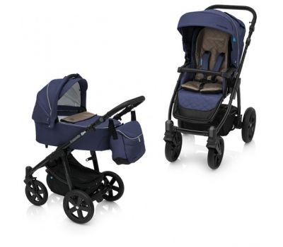 Carucior Multifunctional 2in1 Lupo Comfort 03 Navy - Baby Design - Baby Design