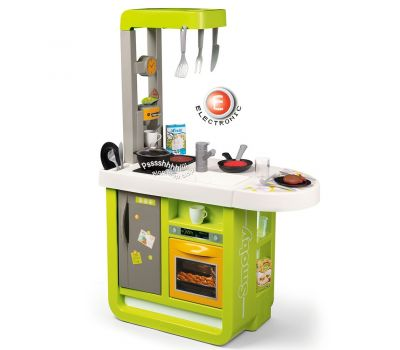 Bucatarie electronica Cherry verde cu sunete - Smoby - Smoby
